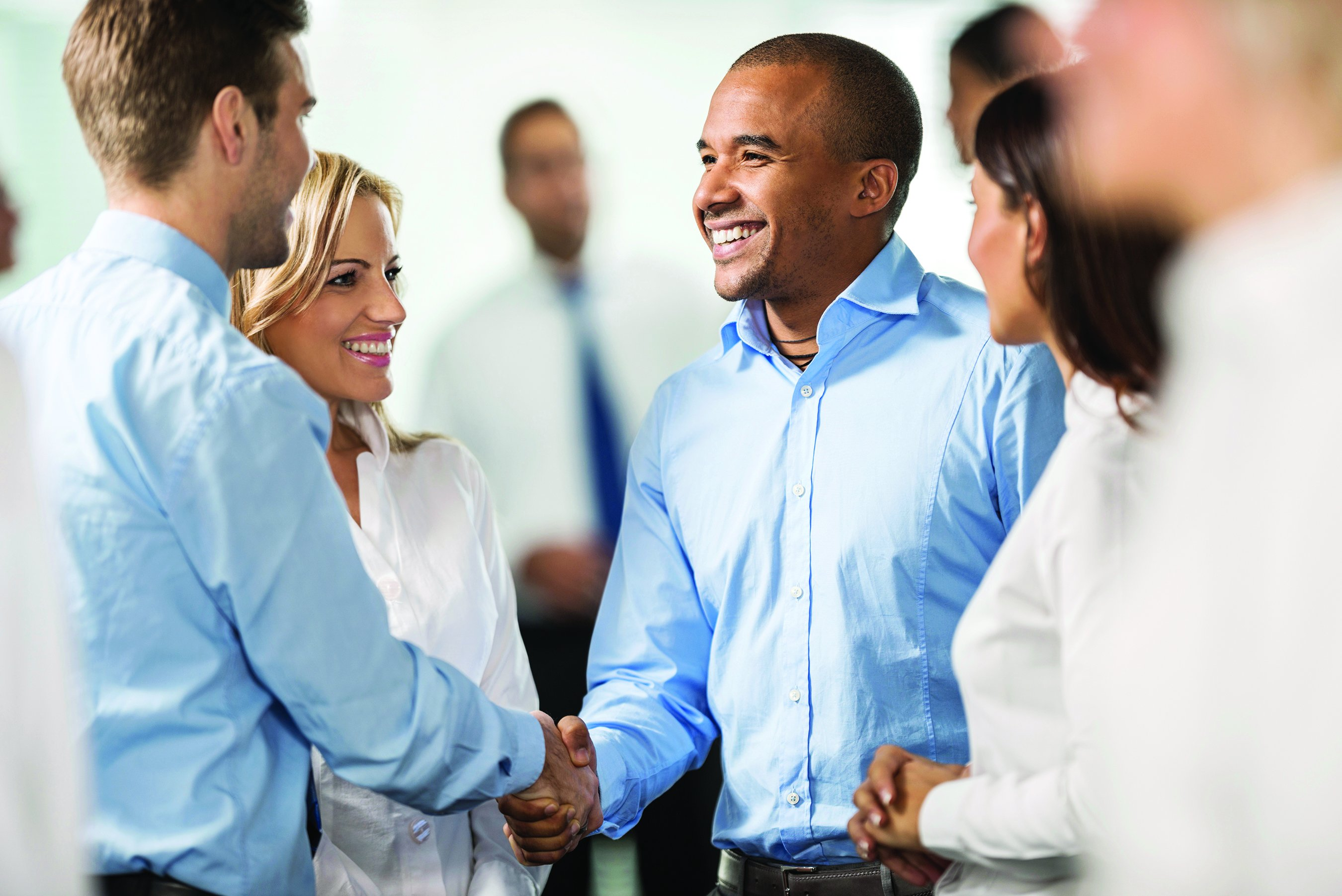 Two businessmen closing the deal by shaking hands. Their colleagues are around them. [url=http://www.istockphoto.com/search/lightbox/9786738][img]http://dl.dropbox.com/u/40117171/group.jpg[/img][/url] [url=http://www.istockphoto.com/search/lightbox/9786622][img]http://dl.dropbox.com/u/40117171/business.jpg[/img][/url]