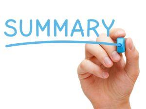 Саммари (summary)